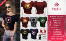 Ibela Store - Shirt Heroes  with HUD