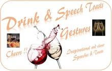 "Gesture pack volume 5  -- ""Drink Speeches & Toasts"""