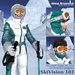 SkiVision 101 Ski and Snowboard Goggles white