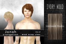 Uw.st   Jonah-Hair  M-Ivory wood