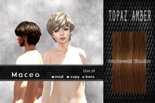 Uw.st Maceo-Hair Topaz amber