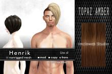 Uw.st Henrik-Hair M-Topaz amber