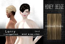 Uw.st Larry-Hair M-Honey beige