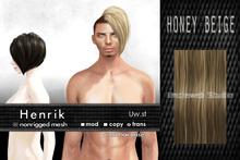 Uw.st Henrik-Hair M-Honey beige