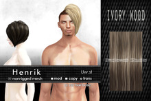 Uw.st   Henrik-Hair  M-Ivory wood