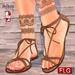 ::FLG Manuella Sandals Flat + HUD 20 Models ::