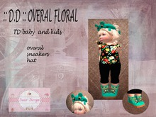 outfit overal floral