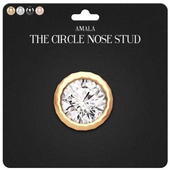 Amala - The Circle Nose Stud