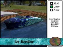 >^OeC^< AD25H Ice Breaker Custom Paint
