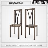 [Commoner] Suspender Chair / Damask