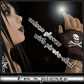 *NT* I m a pirate gloves (Neko Punk Urban Emo Style)