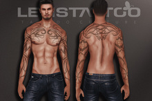 Letis Tattoo :: Tribal :: Tattoos Bakes On Mesh & Legacy Signature and more Appliers