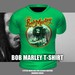 * Guarded Cross * Bob Marley T-Shirt