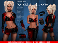 GRAVES Mad Love 1 + inclusive Omega, TMP appliers
