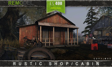 REMODEL - Rustic Shop/Cabin