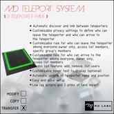 MD Teleport System (2 TP)