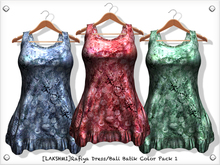 [LAKSHMI]Rafiya Dress/Bali Batik Color Pack 1