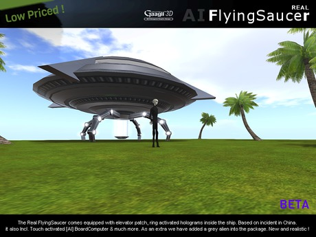 Gaagii 3D - Real Flying Saucer - Realistic reprodution of China UFO [Discounted]