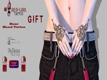 [RG] Rose Hand Tattoo GIFT - Maitreya - Belleza - Omega - Slink