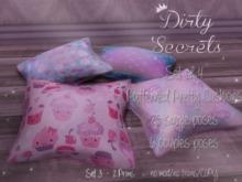 ~ Dirty Secrets ~ Pattern Cushions Set3