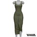 TETRA - Sahara Dress (Olive)