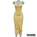TETRA - Sahara Dress (Banana)