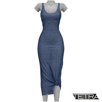 TETRA - Sahara Dress (Blueberry)