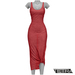 TETRA - Sahara Dress (Cherry)