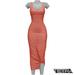 TETRA - Sahara Dress (Coral)