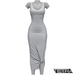 TETRA - Sahara Dress (Gray)