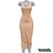 TETRA - Sahara Dress (Nude)