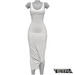 TETRA - Sahara Dress (White)