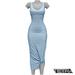 TETRA - Sahara Dress (Sky)