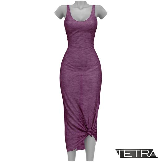TETRA - Sahara Dress (Plum)