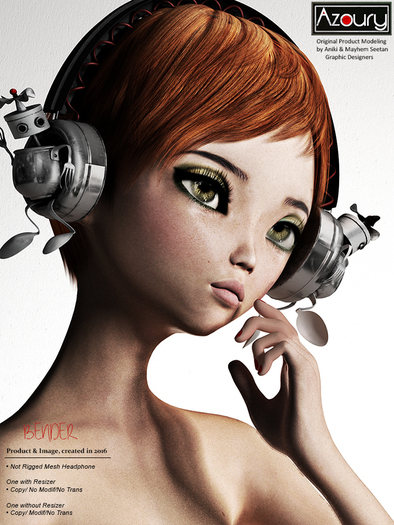 AZOURY - Bender Headphone