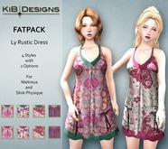 KiB Designs - Ly Rustic Dress -FATPACK