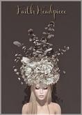 Belle Epoque { Faith Headpiece } White