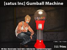 [satus Inc] Gumball Machine