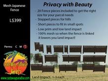 [LBCP] Mesh Fence Kit (Boxed)