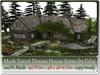 Mesh Forest Dream House Scene 146 prim=48x48m Size copy-mody