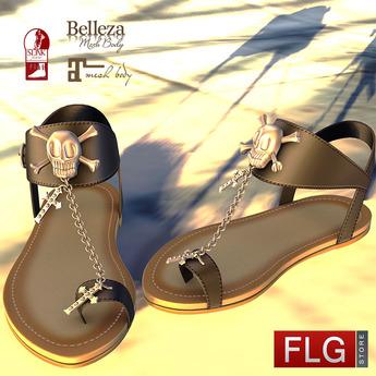 ::FLG Adrasteia Skull Flat - HUD 20 Models::