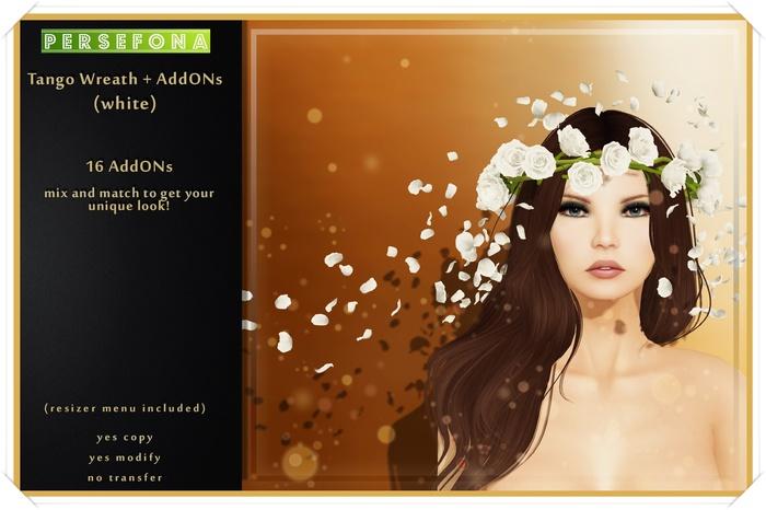 Persefona Tango Wreath + AddONs (white)