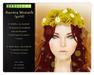 Persefona Aurora Wreath (gold)