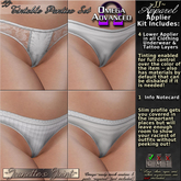 ~JJ~ Tintable Panties Omega Appliers