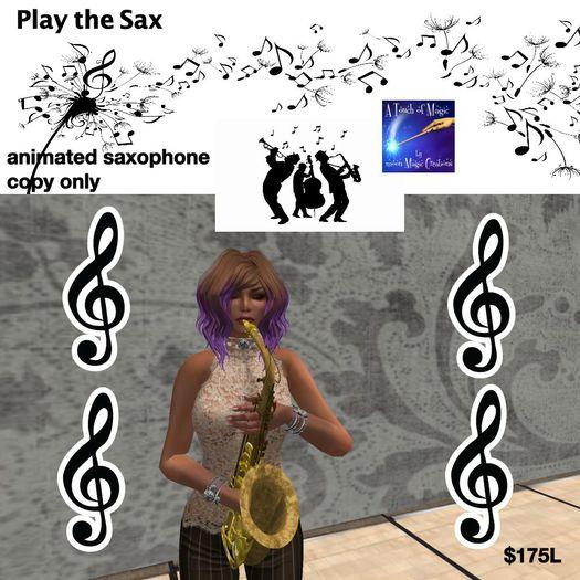 Saxaphone copy version (bag)
