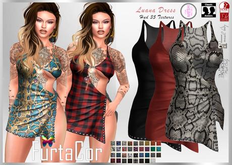 FurtaCor*Luana Dress