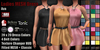 GAS [Ladies MESH Dress Ava - 20x20x4 Colors with HUD]