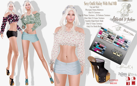 LSR - Sexy Outfit Hailey With Hud MB