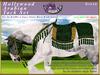 *E* Hollywood Arabian Saddle Set [Boxed] RH Gypsy Vanner Green