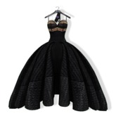 .::MVD::. Bombon Gown (Embroidered)